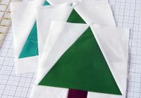 Beautiful suburbs christmas quilt free tree block pattern cluck 11 Unique Tree Quilt Block Pattern