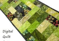 Beautiful table runner quilt patterns table runner patterns modern quilt pattern scraps or jelly roll pattern digital download very easy beginner 10 Modern Easy Table Runner Quilt Patterns