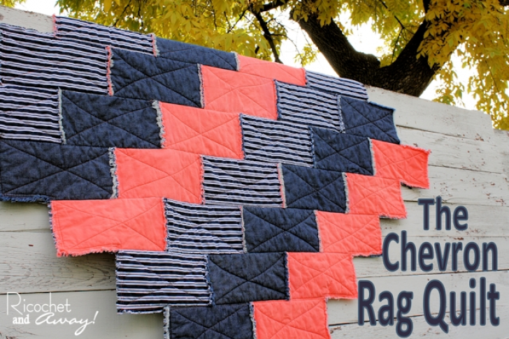 Permalink to 9 Cool Chevron Rag Quilt Pattern Inspirations