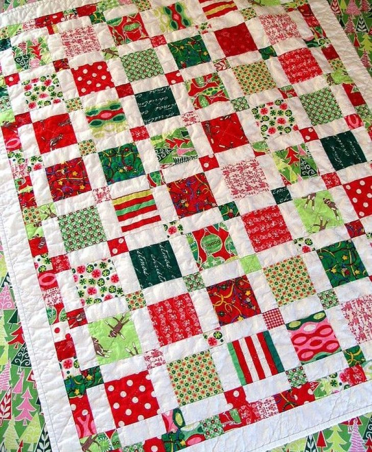 Permalink to 11 Unique Christmas Quilt Ideas Gallery