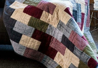 Beautiful this cozy quilt is super easy to make quilting digest 11 Interesting Easy Flannel Quilt Patterns