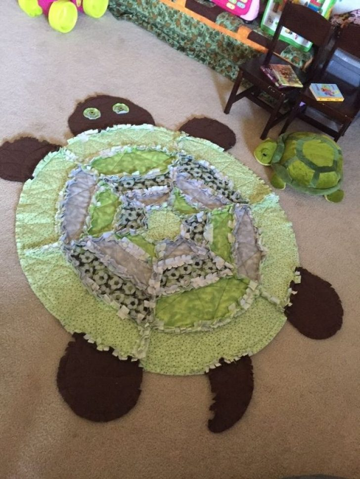 Permalink to 9 Cool Turtle Rag Quilt Pattern Inspirations