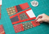 Beautiful tutorial no1 lining up awkwardly angled seams in a 9 Stylish Magic Tiles Quilt Pattern