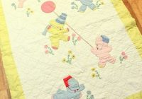 beautiful vintage ba quilt ba items vintage Interesting Vintage Baby Quilt Patterns Inspirations