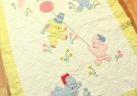 beautiful vintage ba quilt ba items vintage Interesting Vintage Baby Quilt Patterns Inspirations