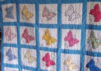 beautiful vintage butterfly quilt block patterns inspiration Stylish Vintage Butterfly Quilt Block Patterns
