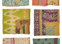 Beautiful vintage kantha quilts vintage kantha quilts vintage 9 Stylish Vintage Kantha Quilts Gallery