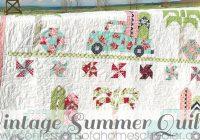 Beautiful vintage summer quilt pattern confessions of a homeschooler 9 Unique Vintage Quilt Block Patterns Gallery