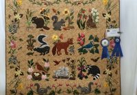 Beautiful woodland creatures designed rosemary deceased oop 11 Cozy Woodland Creatures Quilt Pattern Inspirations