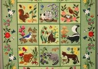 Beautiful woodland creatures elvira ohelmacher pattern rosemary 11 Cozy Woodland Creatures Quilt Pattern Inspirations