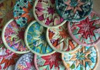beckys easy folded star quilted coaster pattern download Interesting Quilted Coaster Patterns
