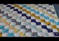 beginners quilt block patterns free pattern for a bow tie quilt Cozy Tie Quilt Patterns For Beginners