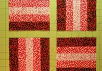 beginning quilting rail fence quilt block tutorial Stylish Easy Rail Fence Quilt Pattern Gallery