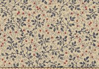 berry vine 108 wide back navy Cozy Quilt Backing Fabric 108 Wide