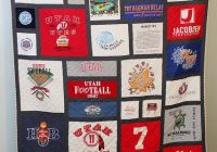 best looking t shirt quilt ive seen i like the black The Good Ole Hockey Game Quilt Pattern