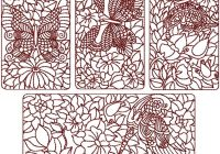 birds and butterflies quilt block set ii Cool Quilt Embroidery Patterns