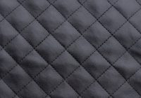black quilted faux leather fabric Stylish Black Quilted Fabric Inspirations