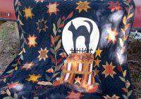 blackbird designs midnight silhouette halloween quilts Unique Silhouette Quilt Patterns