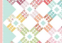 bling downloadable pdf quilt pattern lella boutique fat Lella Boutique Kaleidoscope Quilt Pattern Free Inspirations