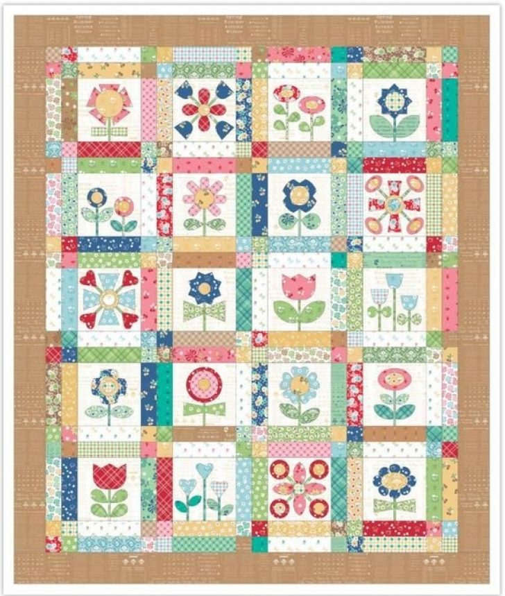 Permalink to Modern Simple Applique Quilt Patterns Inspirations