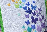 blooming butterflies quilt pattern quilt patterns Interesting Butterfly Applique Quilt Pattern Gallery