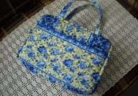blue and yellow floral quilted zippered bible cover Interesting Quilted Bible Cover Patterns Gallery