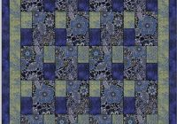blue danube kit great idea for 3 fabrics quilts quilts Elegant 3 Fabric Quilt Idea Gallery