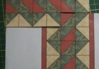 border with hst crafts quilting quilt boarders quilt Interesting Triangle Quilt Border Pattern Gallery