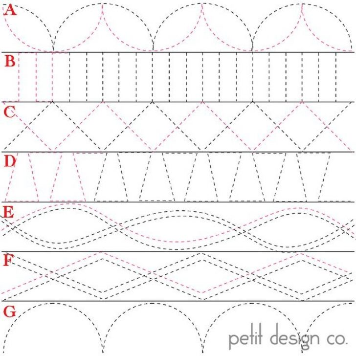 Permalink to Modern Quilting Stitches Patterns