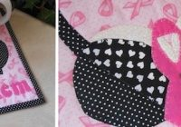 breast cancer awareness quilts celebrate our sisters Cozy Pink Ribbon Breast Cancer Quilt Pattern Inspirations