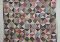 broken dishes ba quilt purl soho Modern Broken Dishes Quilt Pattern