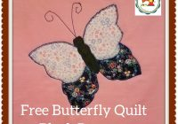 butterfly applique quilt pattern free downloadable file Stylish Applique Quilt Block Patterns