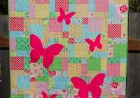 butterfly silhouette quilt tutorial sew mama sew Interesting Butterfly Applique Quilt Pattern Gallery