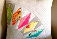 cant quilt but i love this pillow cover made from Cool Quilting Pillow Patterns Gallery