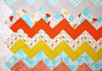 carolyns chevron quiltfree pattern quilting daily 10   Chevron Quilt Pattern Using Rectangles Gallery