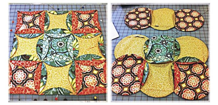 Permalink to Mock Cathedral Window Quilt Pattern Inspirations