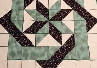 center block of larinth debbie maddy star quilt 9 Cool Large Quilt Block Patterns
