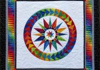 chasing dreams batik paper pieced quilt kit 3 star jacqueline de jonge Interesting Foundation Pieced Quilt Patterns Inspirations