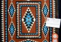 cherokee pattern awesome color combo feather quilt ideas Elegant Indian Quilt Patterns