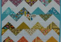 chevron quilt a tutorial modern handcraft Cool Chevron Quilting Pattern