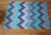 chevron quilt tutorial quiltylicious Stylish Pattern For Chevron Quilt