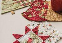 christmas mug rug set pattern Stylish Quilted Mug Rug Patterns Gallery