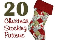 christmas stocking patterns inspiring think i might have Modern Quilted Stocking Patterns Gallery