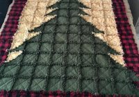 christmas tree rag quilt etsy quiltsewing christmas Christmas Tree Rag Quilt Pattern Gallery