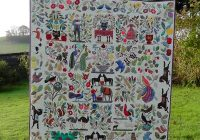 civil war bride quilt red house west Unique Civil War Bride Quilt Pattern