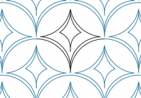 clamshell diamond karlee porter digitized quilting Cozy Digitized Quilting Patterns Inspirations