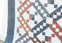 classic and vintage series jacobs ladder the jolly Modern Jacobs Ladder Quilt Pattern