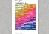 cobblestone quilt pattern alison glass paper pattern Interesting Cobblestone Quilt Pattern