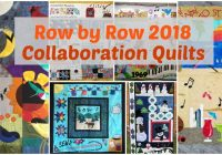 collaboration row row quilts row row experience Row By Row Quilt Patterns Inspirations