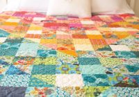 color dive half square triangle quilt anna maria horner Cozy Quilts Using Half Square Triangles Gallery
